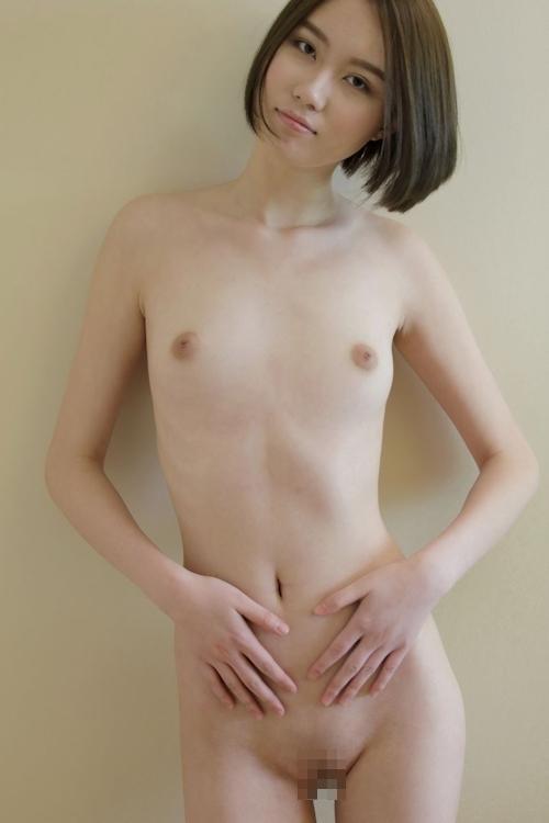 中国スレンダー美女モデルのヌード画像 9