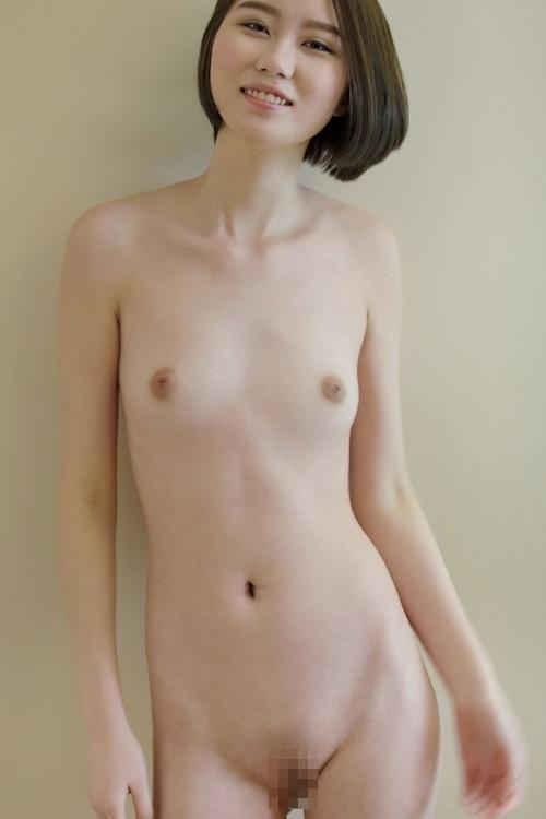中国スレンダー美女モデルのヌード画像 10