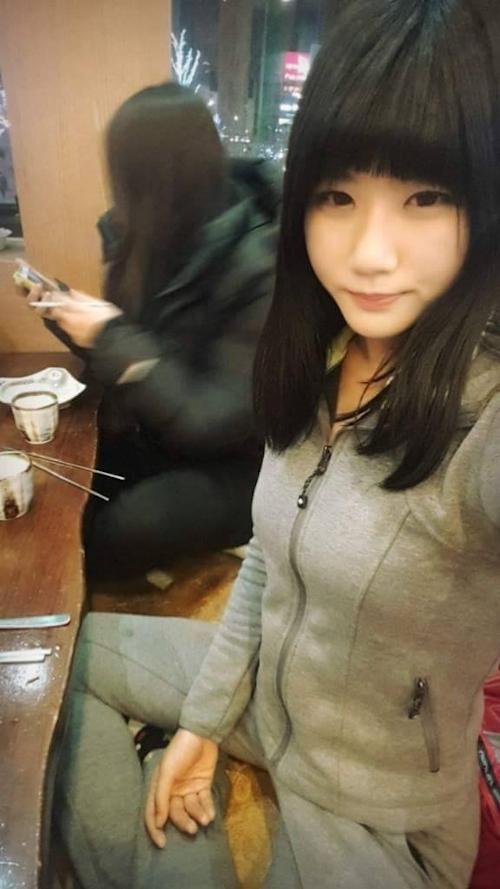 韓国素人美女の流出セックス画像 2
