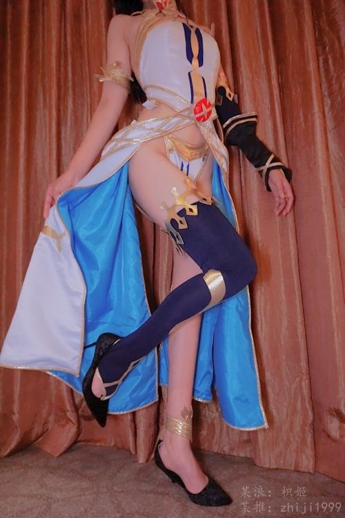 ナイスボディなコスプレイヤー 枳姬 を個人撮影したヌード画像 2