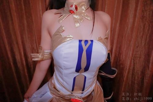 ナイスボディなコスプレイヤー 枳姬 を個人撮影したヌード画像 3