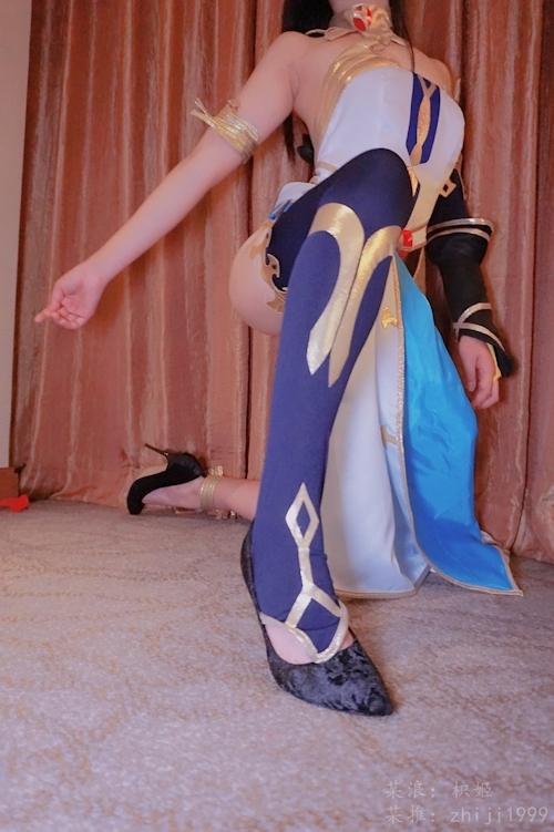 ナイスボディなコスプレイヤー 枳姬 を個人撮影したヌード画像 5