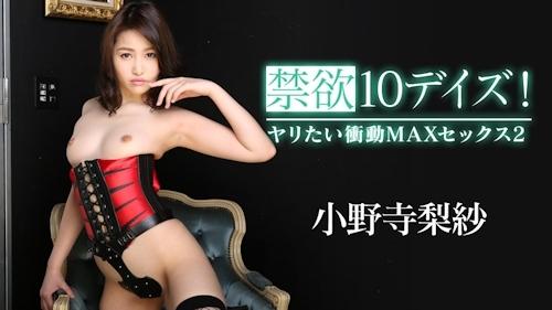 禁欲10デイズ!ヤリたい衝動MAXセックス2 小野寺梨紗 -カリビアンコムプレミアム