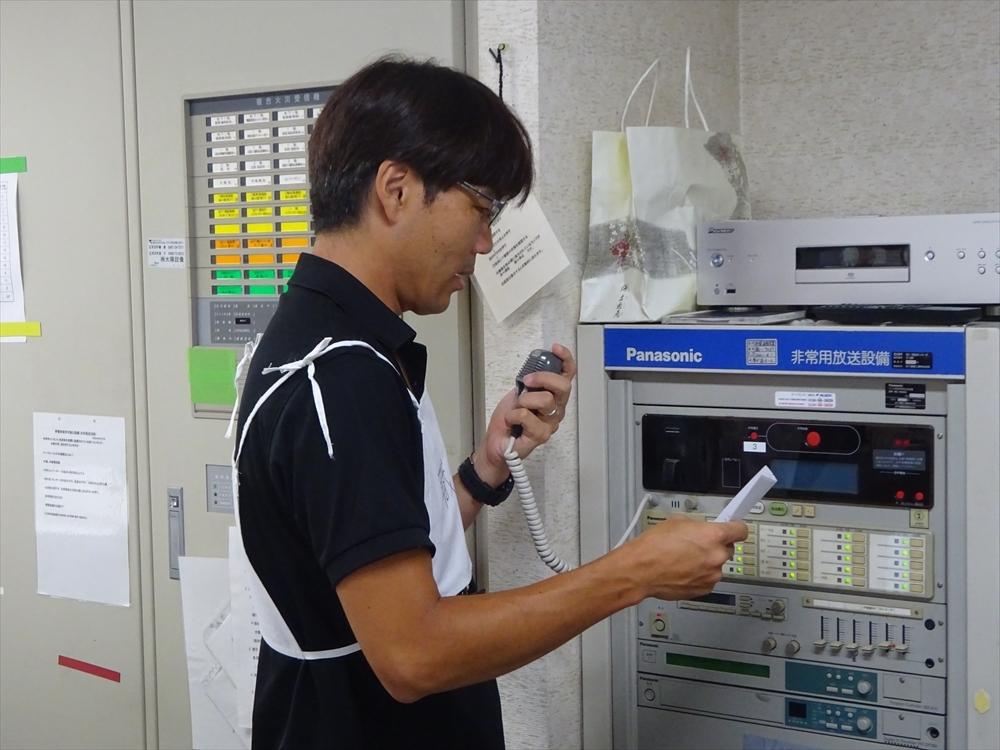 七里ガ浜ホーム厨房にて火災発生!!! ※訓練です・・・