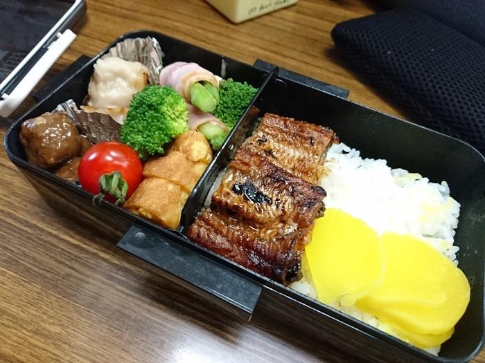 2019-07-29うなぎ弁当