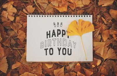 お誕生日おめでとう 秋