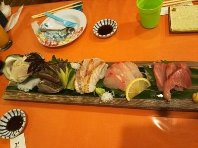 あまみの魚たち お刺身