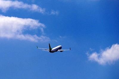 青空 飛行機