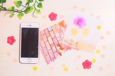スマホ 可愛い ピンク 背景