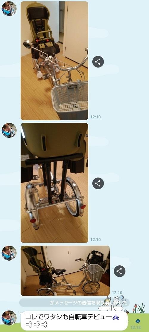 自転車DIY ラインその6