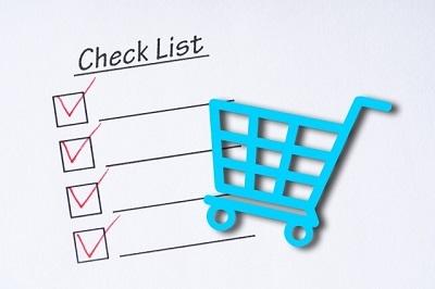 買い物 チェックリスト