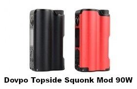 Dovpo x TVC Topside 90W Squonk Box Mod