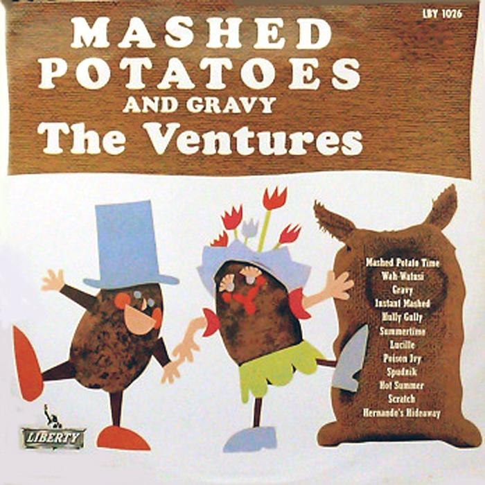 【1962】ヴェンチャーズのマッシュ・ポテト・タイム┃LBY-1026