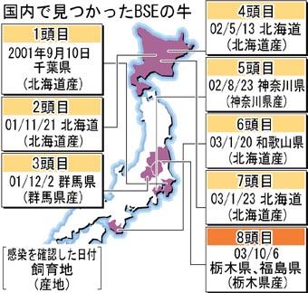 狂牛病 日本