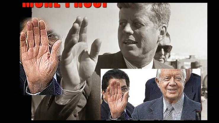 JFK Assassination Exposed Part III Pre Release Notice JFKとJimmyCarter元大統領の手相