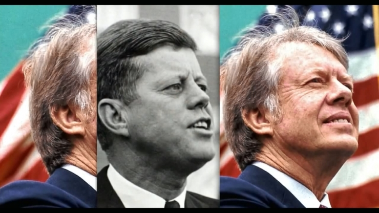 JFK Assassination Exposed Part III Pre Release Notice JFKとJimmyCarter元大統領の耳の形比較3