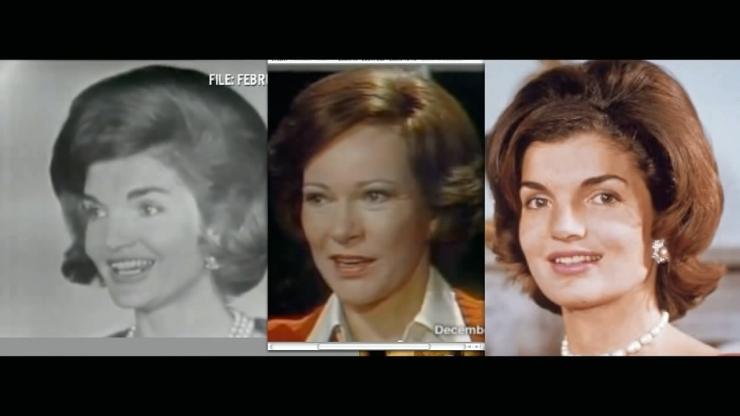 JFK Assassination Exposed Part III Pre Release Notice JFKとJimmyCarterの妻同士を比較