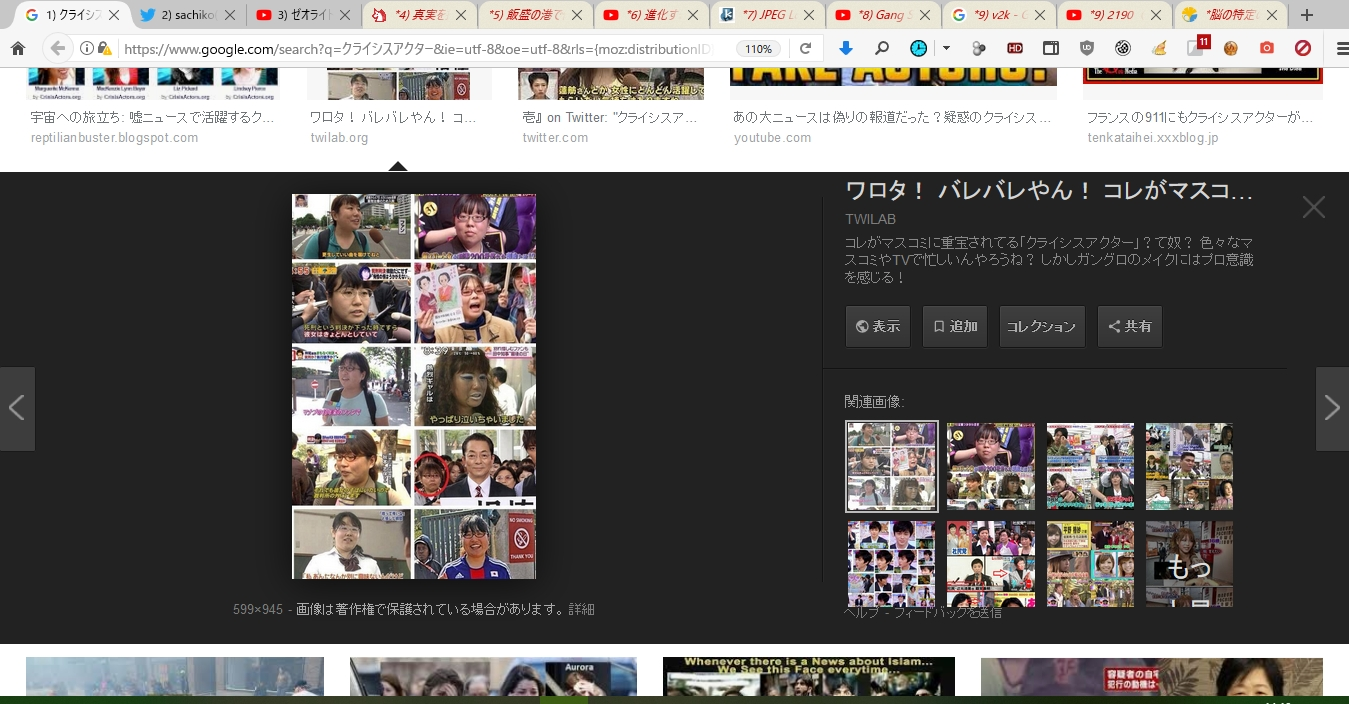 日本のクライシスアクター、ニュースアクター