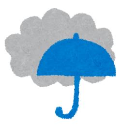 雨時々曇り