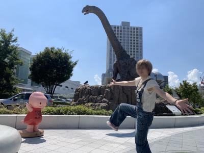 福井駅恐竜