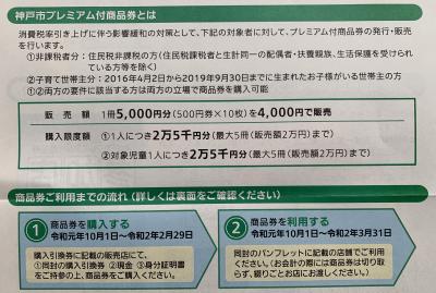 プレミアム付商品券3