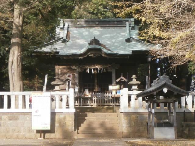鶴嶺神社本殿