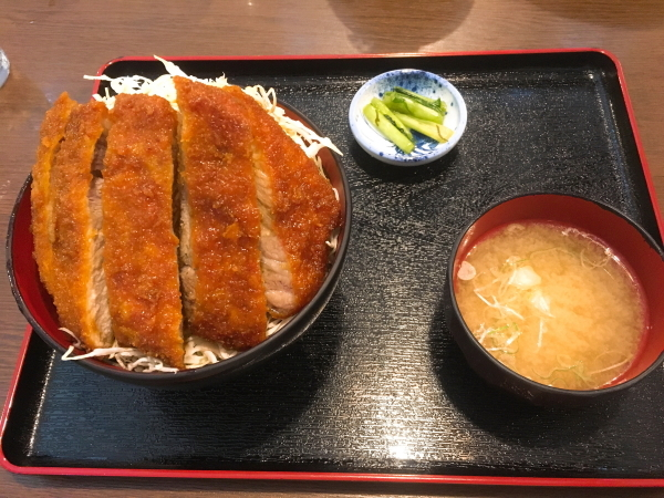 明治亭ソースロースカツ丼