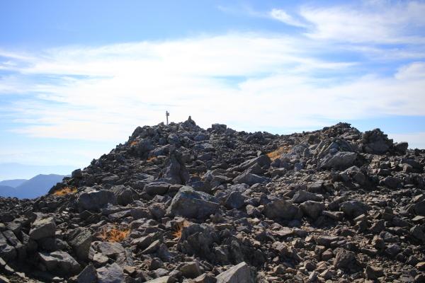 0855大喰岳平坦は山頂