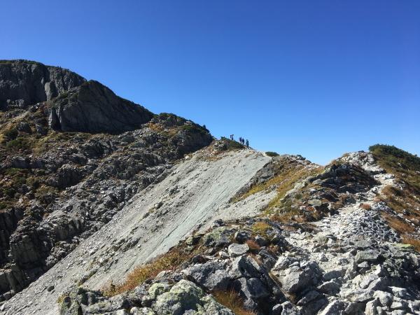 1045稜線