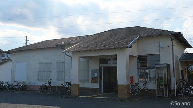 JR東海・紀勢本線・阿田和駅の木造駅舎
