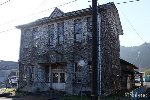 美祢市、洋風の造りが印象的jな旧厚保郵便局