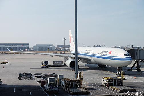 中国国際航空国内線のA330-200