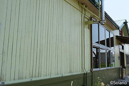 根室本線(花咲線)・茶内駅、古い造りを残す木造駅舎
