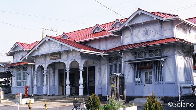 南海電鉄、明治の洋風木造駅舎・浜寺公園駅