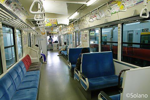IGRいわて銀河鉄道の7000系電車に八戸から乗車