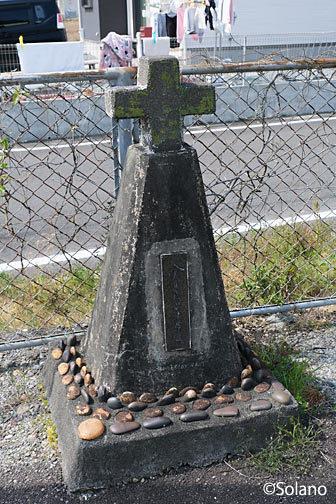 紀勢本線、神志山駅上りホームにある安全塔