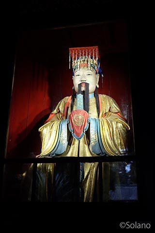 武候祠博物館、諸葛孔明像