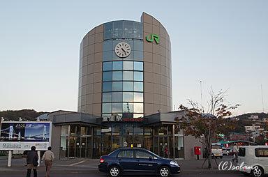 室蘭本線支線の終点・室蘭駅駅舎
