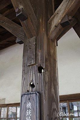 肥薩線・大隅横川駅の木造駅舎、米軍機銃掃射の跡