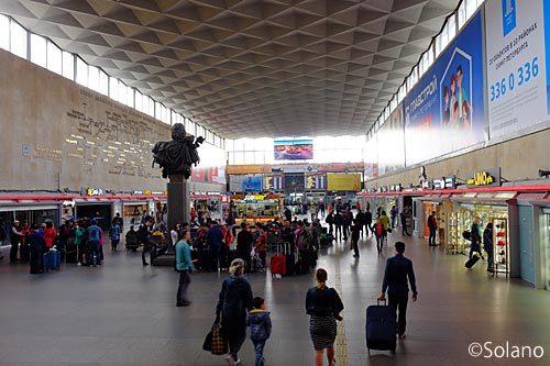 サンクトペテルブルグ・モスクワ駅