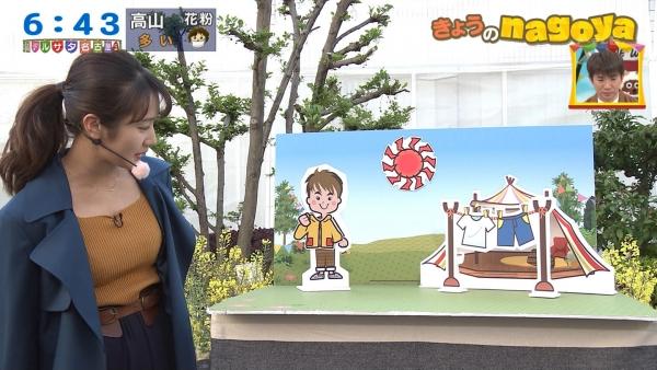 セクシーニットの島津咲苗!!ブレイク必至のおっぱい界の新星!!