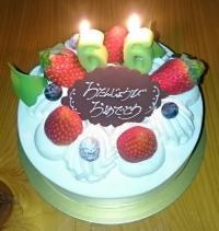 誕生日ケーキ20181120