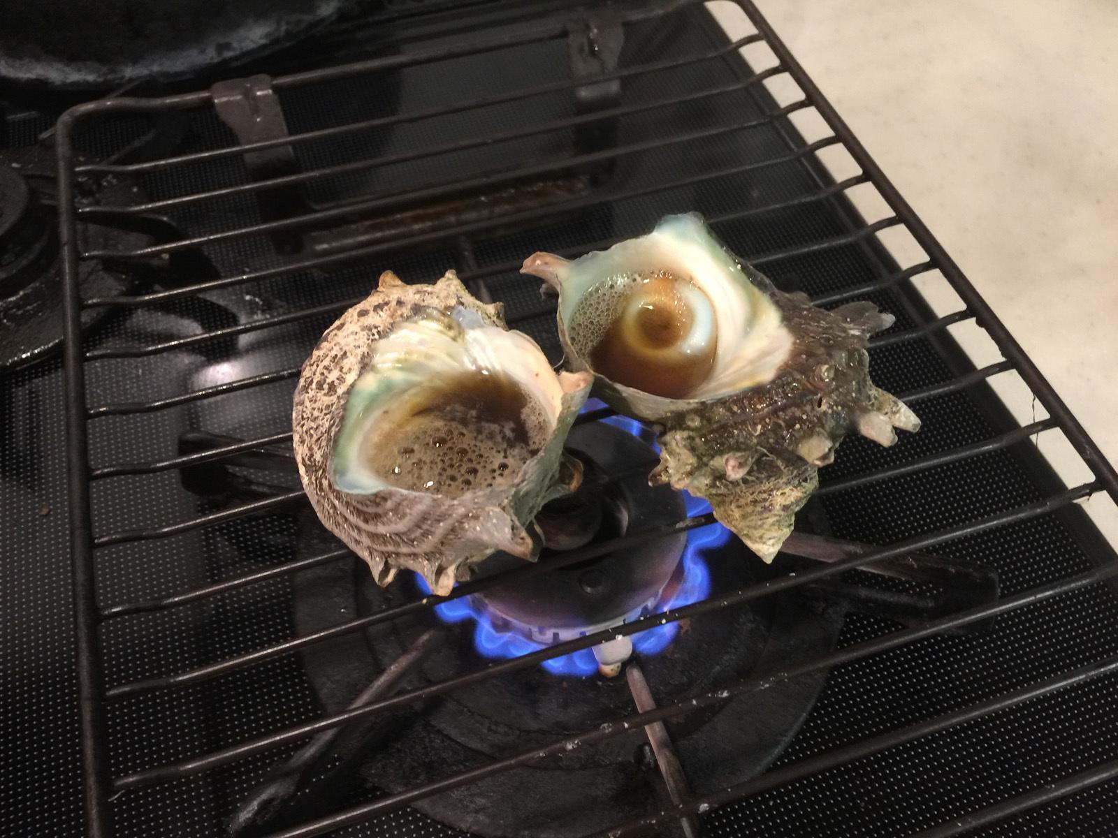 サザエさんの壺焼き