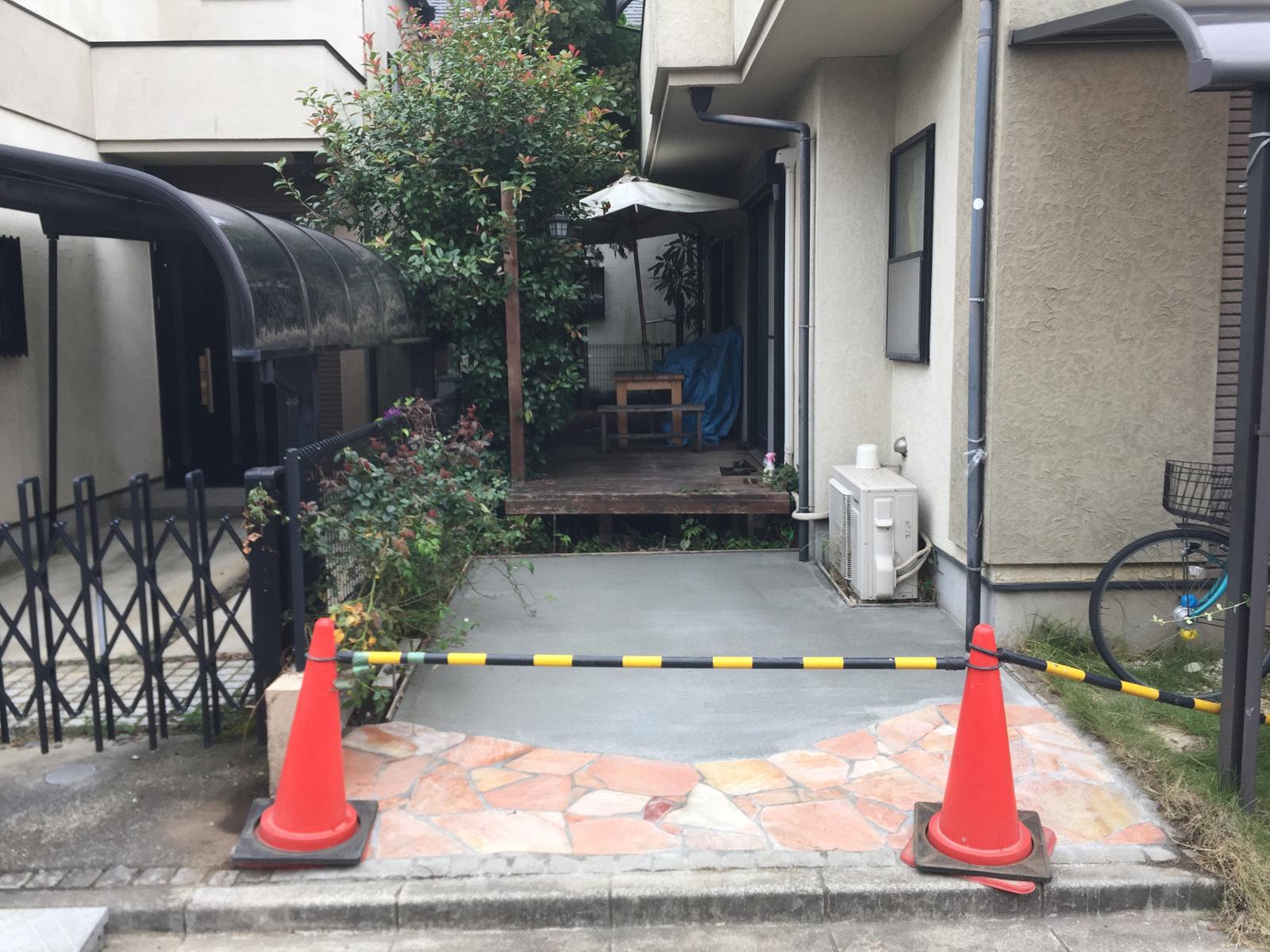 庭工事20190921
