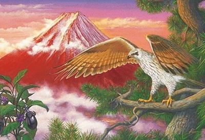 一富士二鷹三茄子画像