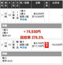 川崎10R