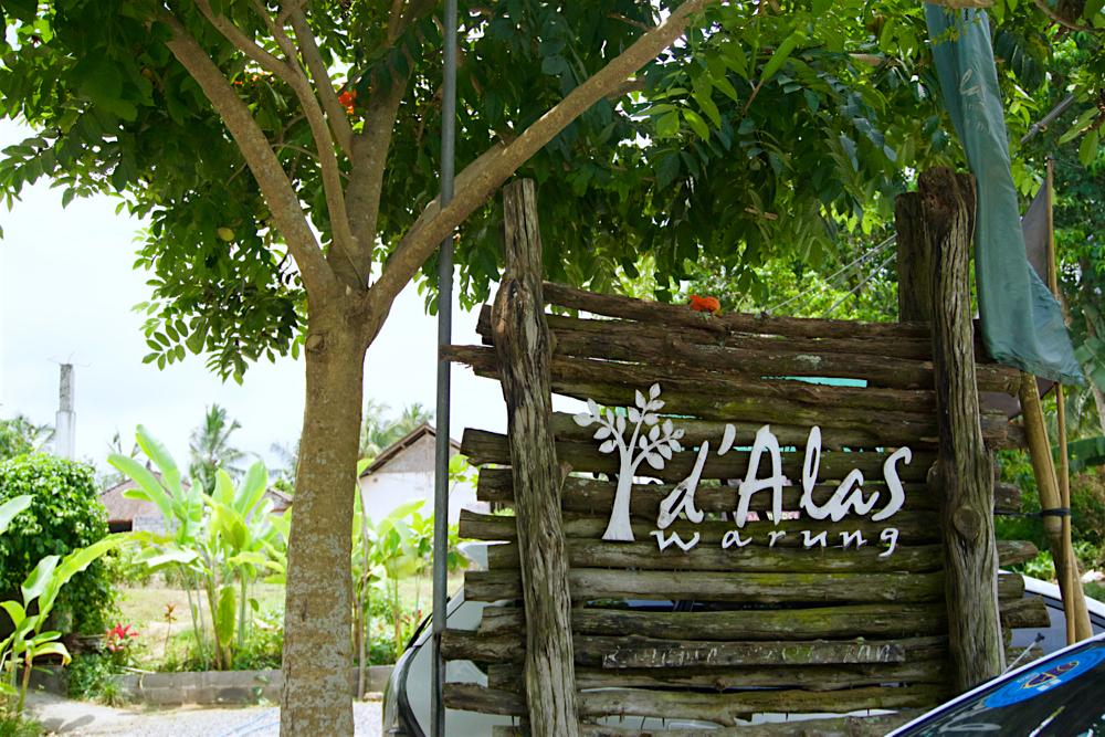 バリ島 Tanjung Sari Hotel 滞在記 その3 d'Alas warung 外観