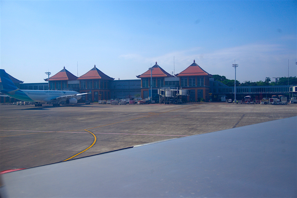 バリ島 Tanjung Sari Hotel 滞在記 その1 デンパサール空港1
