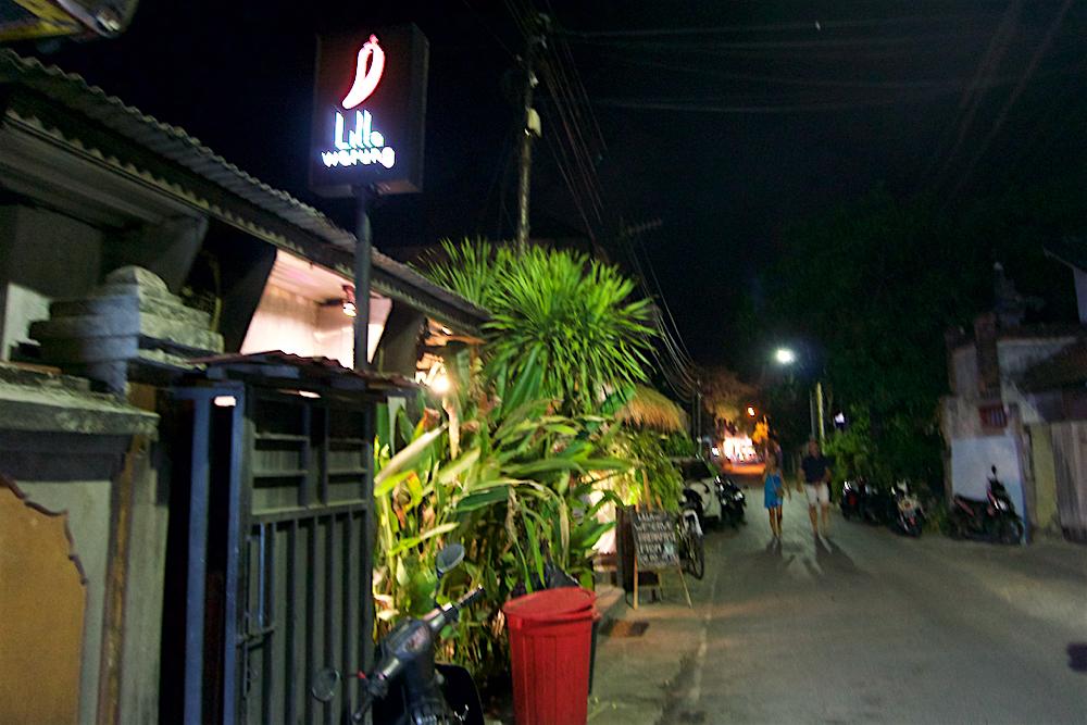 バリ島 Tanjung Sari Hotel 滞在記 その1 Lilla Warung 外観