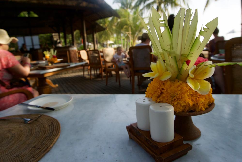 バリ島 Tanjung Sari Hotel 滞在記 その2 レストラン
